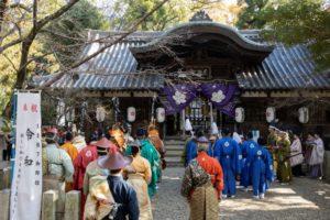 池神社での`様子(写真 森山雅智)