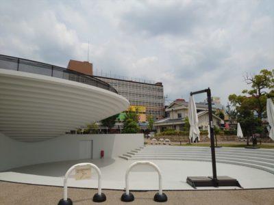 遊べる無料スポット【天理駅前広場コフフン】お弁当持参で遊びに行こう