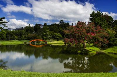南都随一の名園!奈良「旧大乗院庭園」(奈良市)