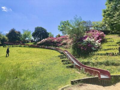 [福神中央公園]全長64mのなが~いローラースライダーがある公園‼
